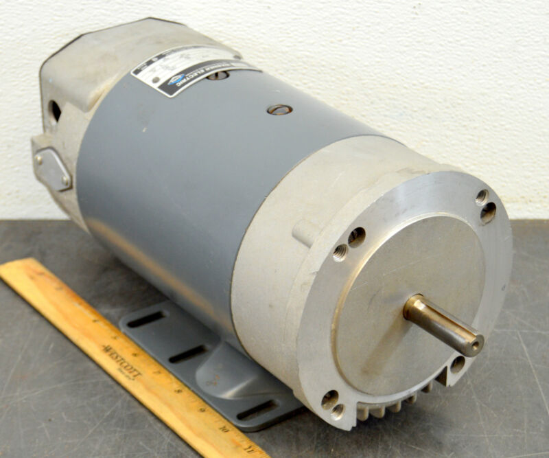 Warner Electric GE General Electric M0G1110100 Motor 3/4 Hp 1725 Rpm 90 VAC