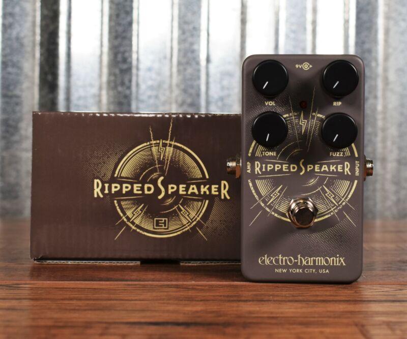 Electro-Harmonix EHX Ripped Speaker Fuzz Guitar Bass Effect Pedal