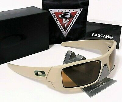 BEST PRICE! New Oakley SI Gascan 11-015 Desert - Bronze Lens. USA Flag O Icon. (Best Oakley Lenses)