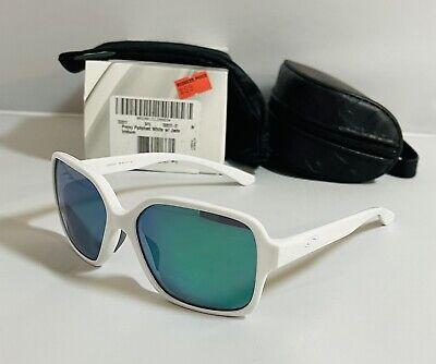 New Oakley Proxy Sunglasses Polished White Frame - Jade Iridium Lenses - Womens