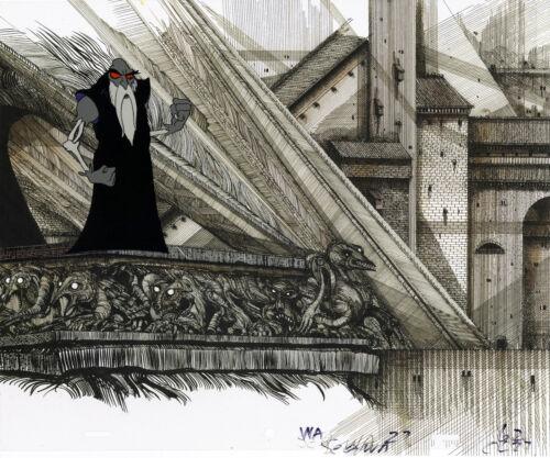 WIZARDS ANIMATION ART: ORIGINAL RALPH BAKSHI PRODUCTION CELS + Free Autograph