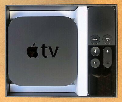 Apple TV A1625 32GB Media Streamer - 4th Generation Gen + Siri Remote