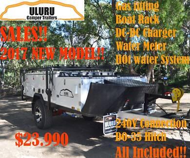 2017 Uluru Spring Sales : Premium off road Foward fold Trailer.