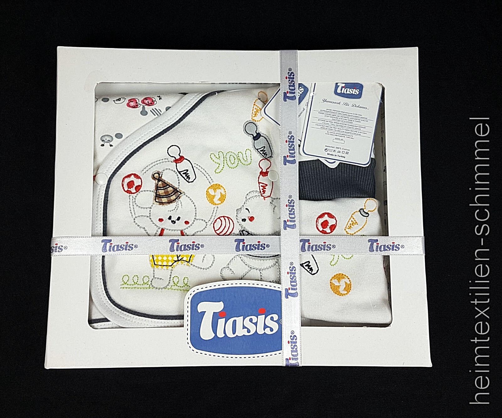 TIASIS® Babybekleidung Baby Erstausstattung Babykleidung Strampler Kleidung SET