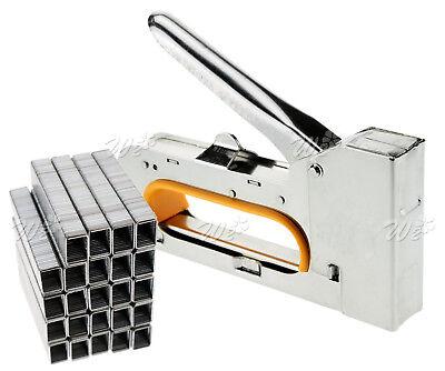 - 4/6/8mm Steel Staple Gun Tacker Upholstery Stapler With 2500 Staples Quality