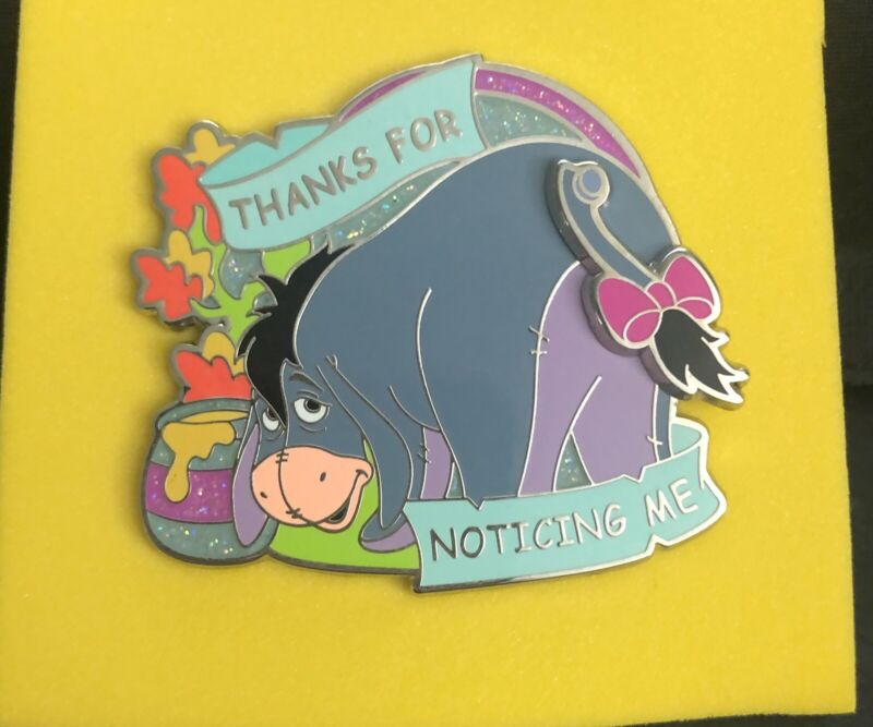 Wdw Eeyore Thanks For Noticing Me Pin