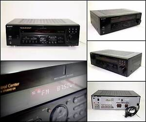 SONY STR-DE485 5.1 Chn AV Receiver (350W) - No Sound Melville Melville Area Preview