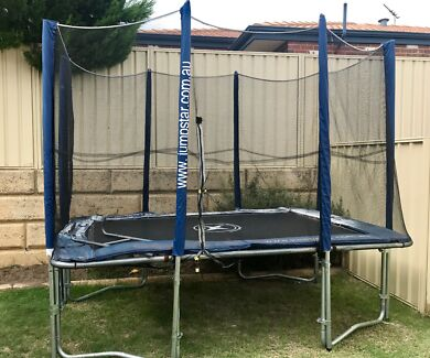 Jumpstar Rectangle Trampoline With Spring Mats | Toys - Outdoor