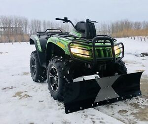 Arctic Cat 700 4x4 with snow blade