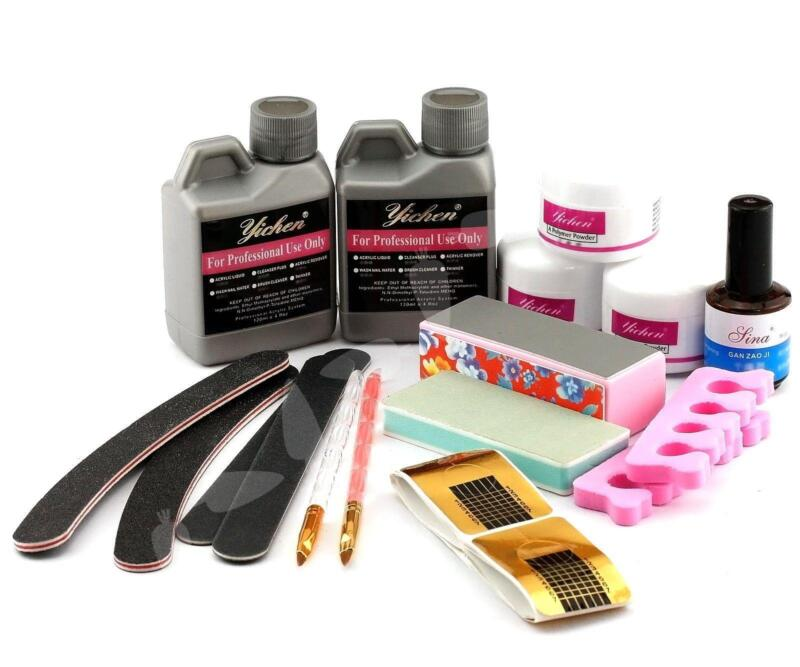Acrylic nail kit ebay for Acrylic nail decoration supplies