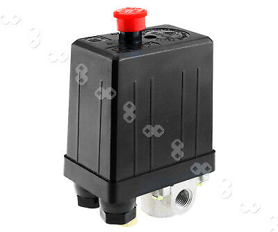 Single Phase Air Compressor Pressure Switch Four Port Manifold Us
