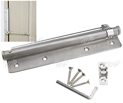 Adjustable 20-40kg Surface Mounted Auto Closing Door Closer Fire Rated