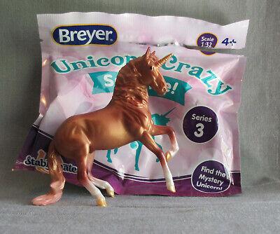 Breyer Stablemates # 97268 Gold Alborozo Unicorn Surprise Blind Bags 3 2020