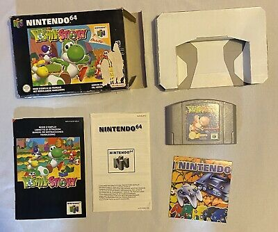 Nintendo 64 Yoshi's Story complet en boîte avec notice