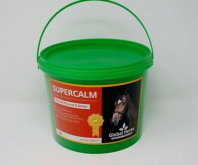 Global Herbs SuperCalm - Calmer for Horses - 1KG