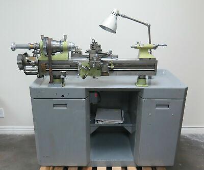 Rivett 608 Precision Back Geared Screw Cutting Lathe Rare Vintage 8-12 X 21