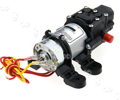 High Pressure Water Pump Micro Electric Diaphragm Pump 12v 100psi 4lmin