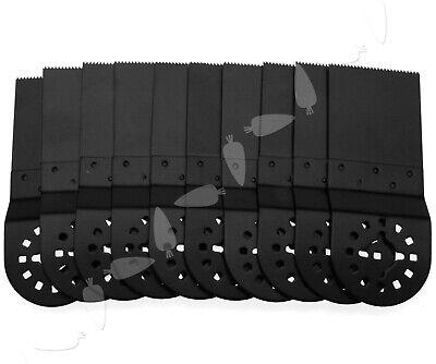 10 Pieces Black Blades For Fein Multimaster Makita Oscillating Multitool