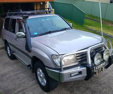 2003 Toyota LandCruiser Wagon