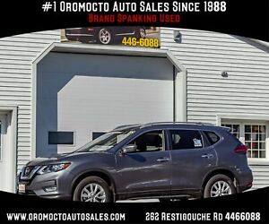 2018 Nissan Rogue SV All WHEEL DRIVE,REMOTE  START, HEATED SEATS