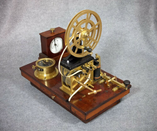 1890: An entire telegraph station, restored to original and Mint Condition !