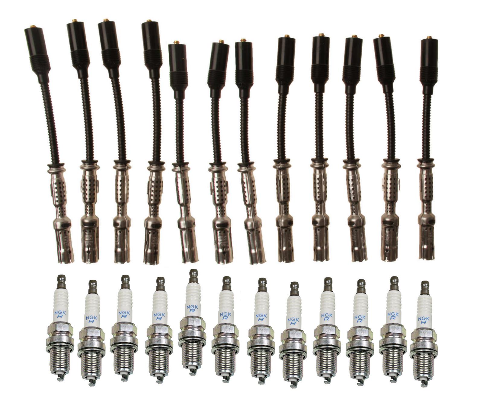 Ignition Wire Set Mercedes C240 C280 C320 CLK320 E320 ML320  ML350 SLK320