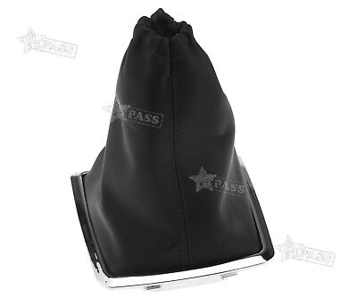 Gear Shift Knob Stick Lever Gaiter Boot Cover Black PU For Ford Focus 2005-2010