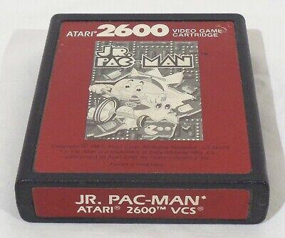 Atari 2600 Jr. Pac-Man Red Label Game Cartridge - Tested & Working