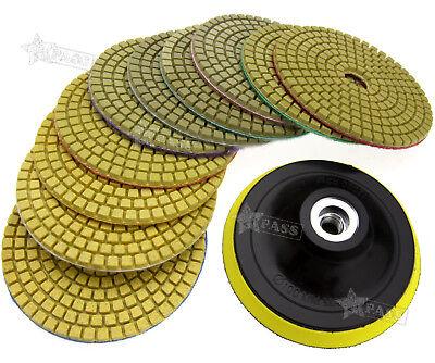 4 Diamond Polishing Pad Grinding Disc For Granite Marble Concrete Stone 10 Pcs
