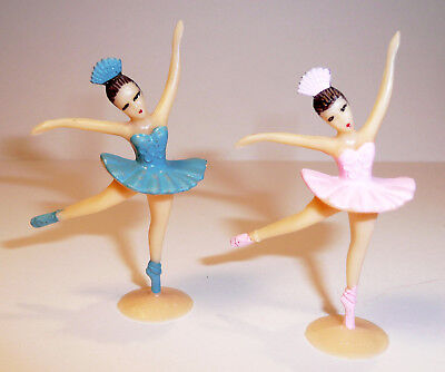 12 Mini Ballerina Cupcake Picks Cake Toppers Favors Decorations Ballet Dance (Ballerina Cake)