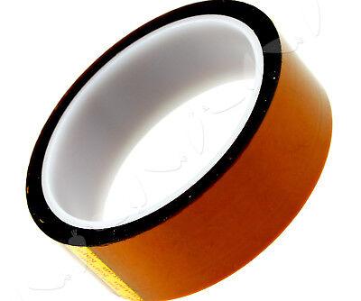33m X 30mm Bga High Temperature Heat Resistant Polyimide Gold Kapton Tape