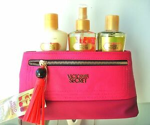 VICTORIA'S SECRET GIFT SET BAG LOVE SPELL PURE SEDUCTION HELLO DARLING