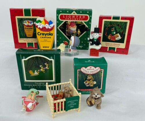 1987 Hallmark Keepsake Ornament * Your Choice * Vintage Christmas Holiday Choose