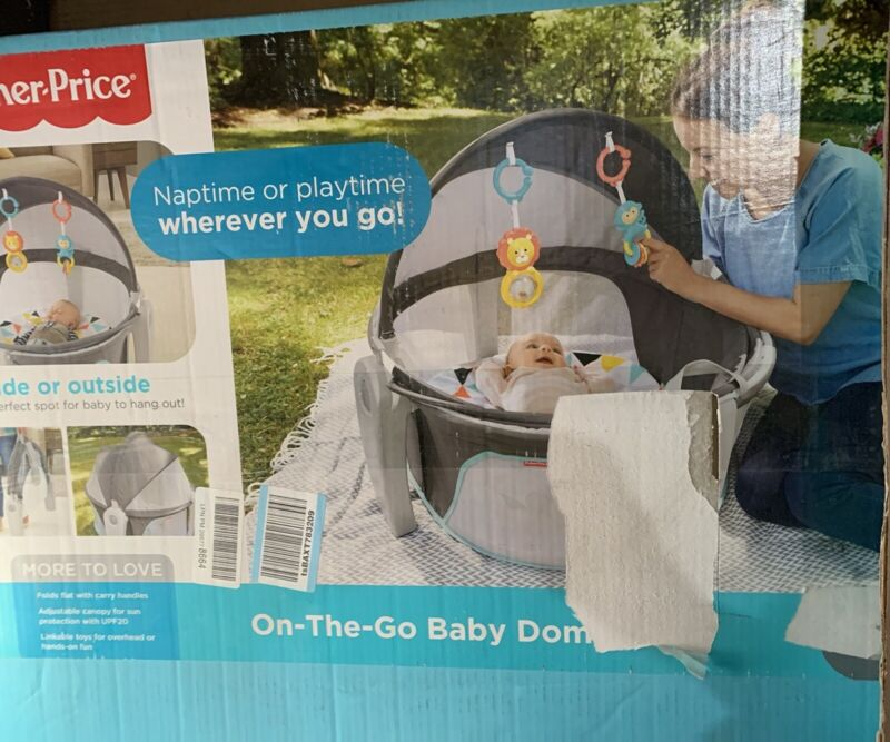 Fisher-Price On The Go Baby Dome, Multi-Color Assembled