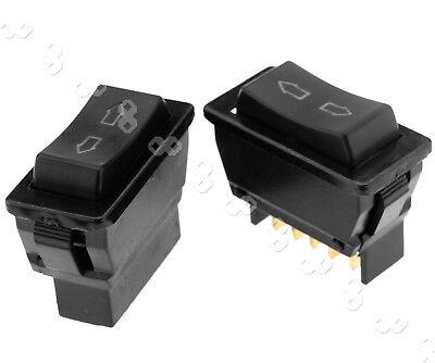 Auto LED Universal Power Window Switch 5-pin Up Down Rocker Switch 12V 5 Pin