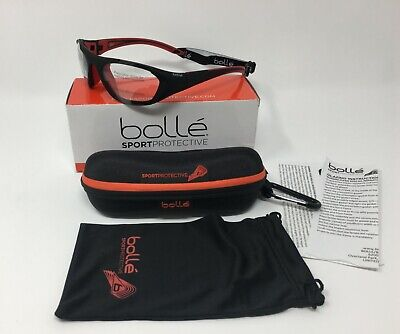 Bolle® 12401 Field Sports PHOTOCHROMIC Safety Glasses, Modulator PC Grey AF Lens Modulator Gray Lens
