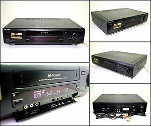 SONY SLV-X8255 4 HEAD G-CODE PAL NTSC VHS VCR Tape Player Melville Melville Area Preview