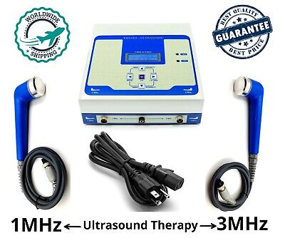 Pro Ultrasonic Therapy Machine Ultrasound 1mhz 3mhz Physical Pain Relief Unit