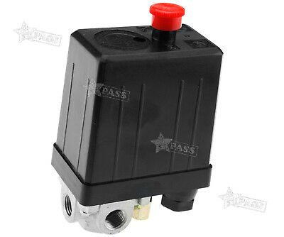 Four Port Manifold Air Compressor Pressure Switch Single Phase 240v 145psi