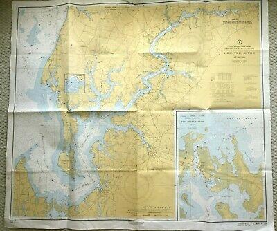 Maritime Nautical Sea Map of Martha/'s Vineyard US Dept Of Commerce