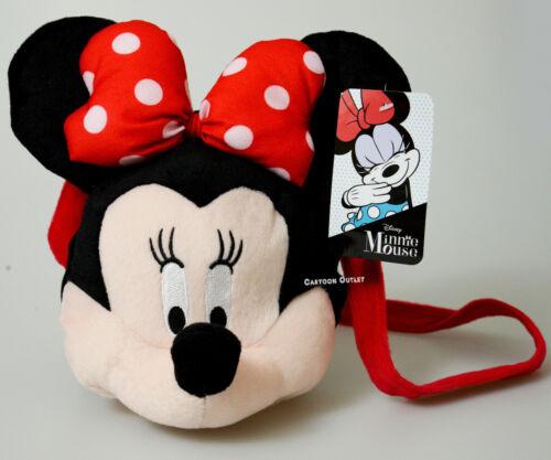 Disney Minnie Mouse Shoulder bag plush purse Minnie Mouse Soft Head GIRLS GIFT