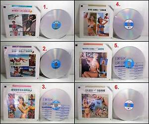 6x English Classic Songs Karaoke TV (KTV) Laser Discs (NTSC) Melville Melville Area Preview