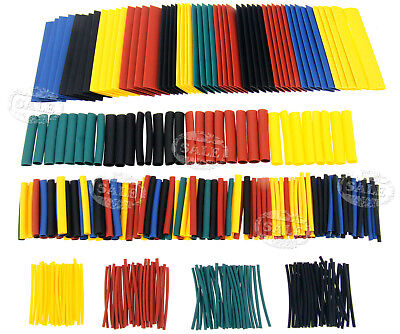 328 X 8 Sizes Assorted 21 Heat Shrink Sleeve Wire Cable Tubing Tube Wrap Kit