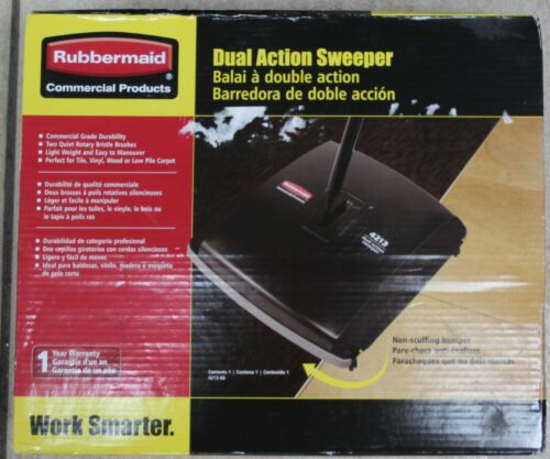 RUBBERMAID DUEL ACTION SWEEPER 4213 NIB