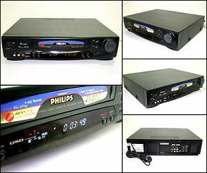 PHILIPS VR656 6 HEAD G-CODE PAL NTSC VHS VCR Tape Player Melville Melville Area Preview