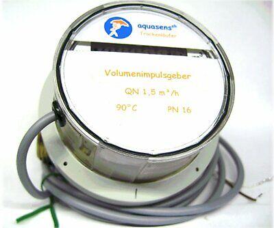 Arduino Qn1,5-1 Imp/L elektronisch SPS  VMT Flowmeter  Durchflussmesser Wasser_ - Elektronische Durchflussmesser