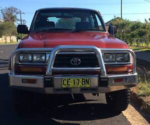 TOYOTA LANDCRUISER GXL 80 SERIES 1995 LPG / PETROL MANUAL 4WD Wentworthville Parramatta Area Preview