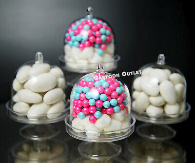 12 PARTY DECORATION FILLABLE CANDY CONTAINERS FAVORS MIS 15 WEDDING BABY SHOWER
