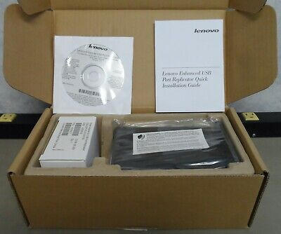 Lenovo Enhanced USB Port Replicator (43R8770)  (New/Opened Box)