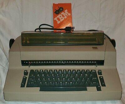 Vintage Ibm Correcting Selectric Ii Electric Typewriter - Tested Works